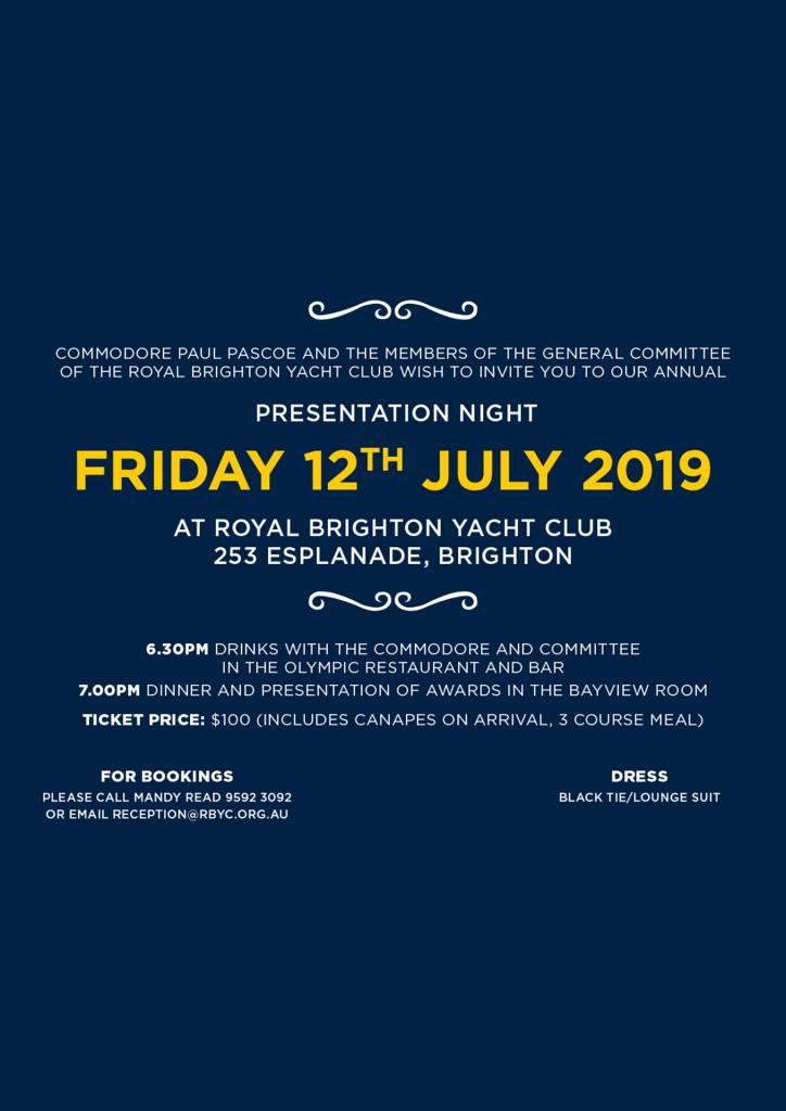 rbyc presentation night ticket
