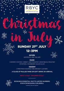 rbyc christmas in july 2019 a4 poster