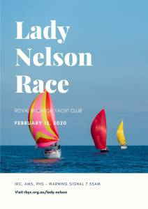 Lady Nelson Race poster