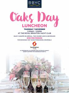 oaks day luncheon 2019 poster