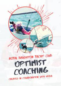 optimist coaching program a4 flyer front