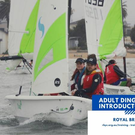 Adult dinghy intermediate course cover