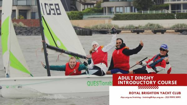 Adult dinghy introductory course cover